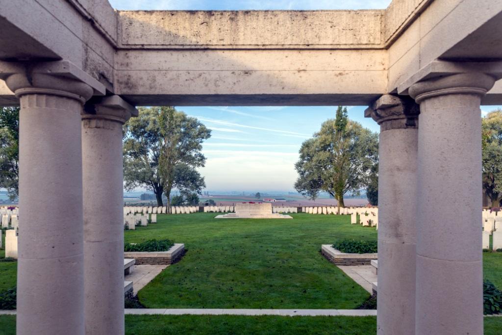 MESSINES RIDGE BRITISH CEMETERY - CWGC