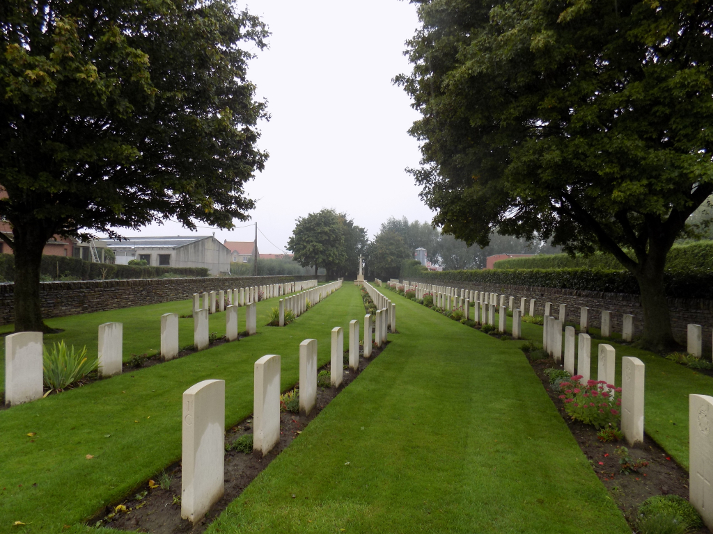 LONDON RIFLE BRIGADE CEMETERY - CWGC
