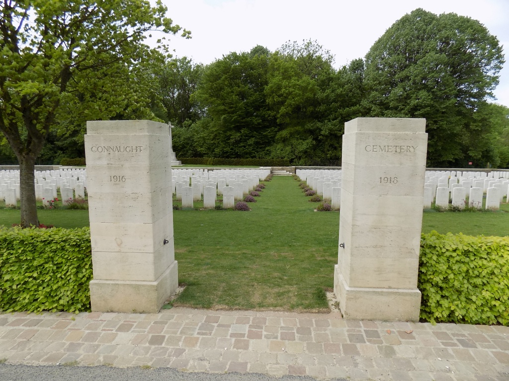CONNAUGHT CEMETERY, THIEPVAL - CWGC