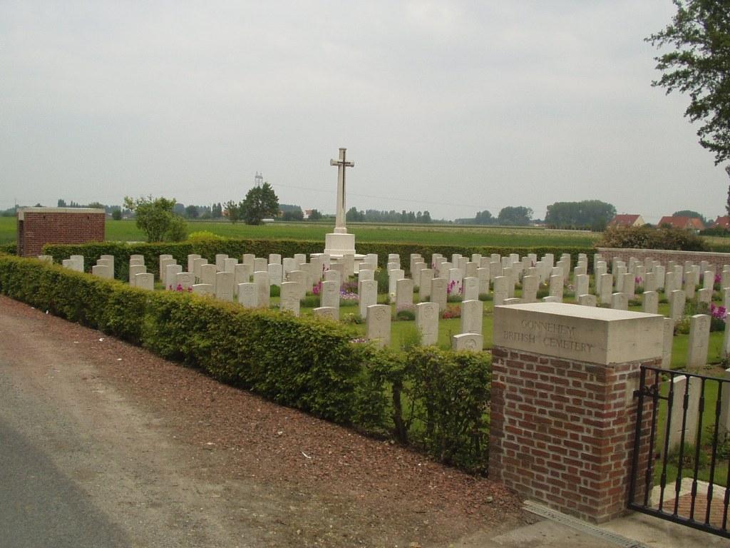 GONNEHEM BRITISH CEMETERY - CWGC