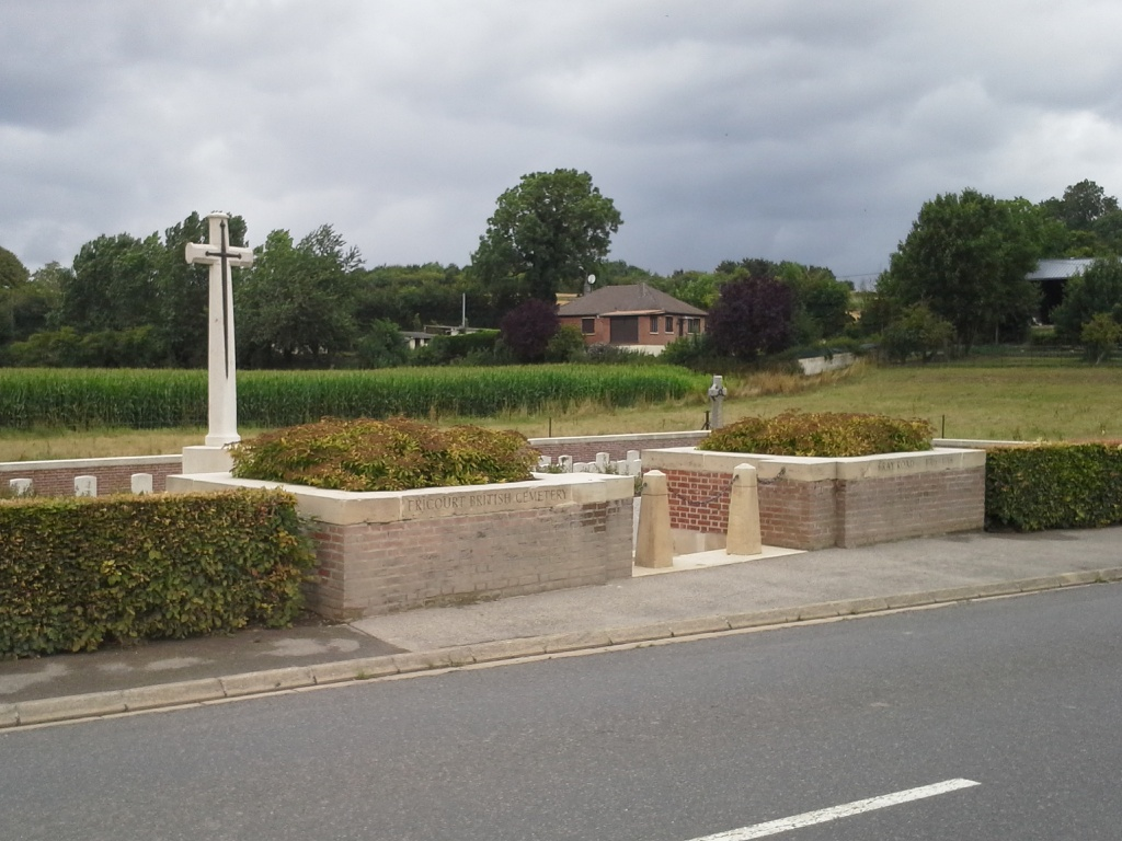 FRICOURT BRITISH CEMETERY - CWGC