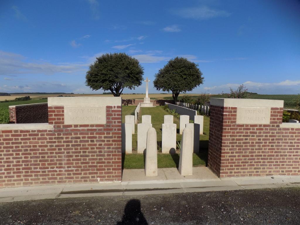 BRAY HILL BRITISH CEMETERY, BRAY-SUR-SOMME - CWGC