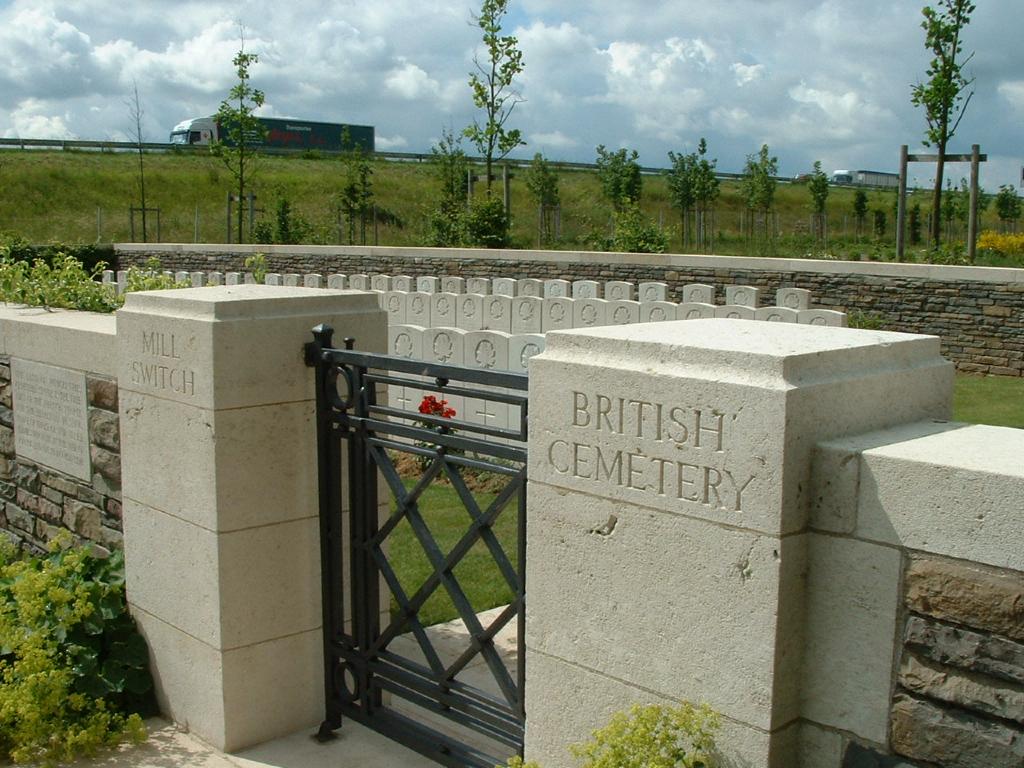 MILL SWITCH BRITISH CEMETERY, TILLOY-LEZ-CAMBRAI - CWGC
