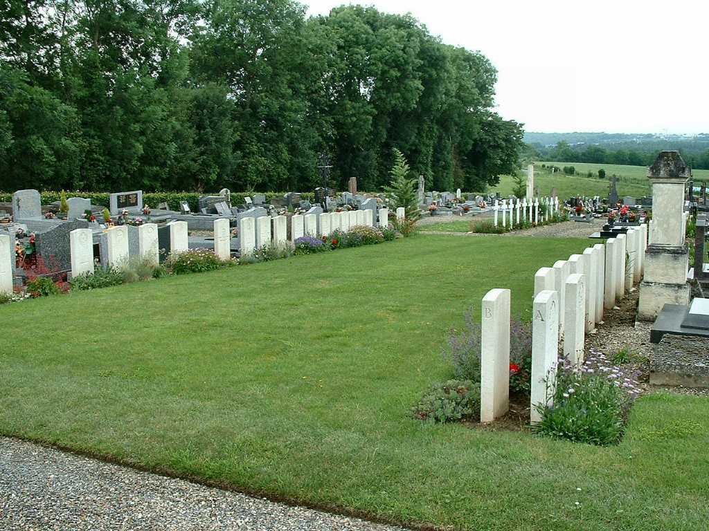 BOVES WEST COMMUNAL CEMETERY - CWGC