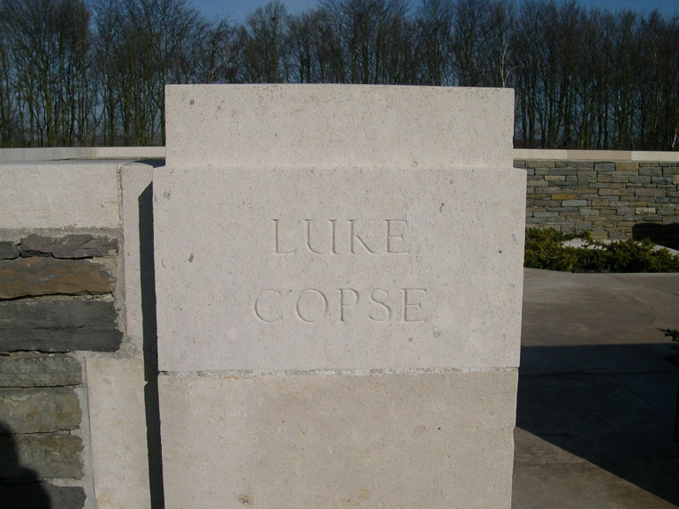LUKE COPSE BRITISH CEMETERY, PUISIEUX - CWGC