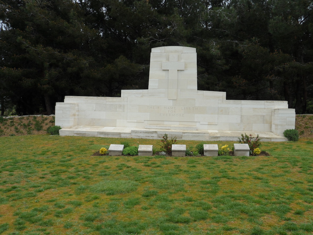 THE NEK CEMETERY, ANZAC - CWGC