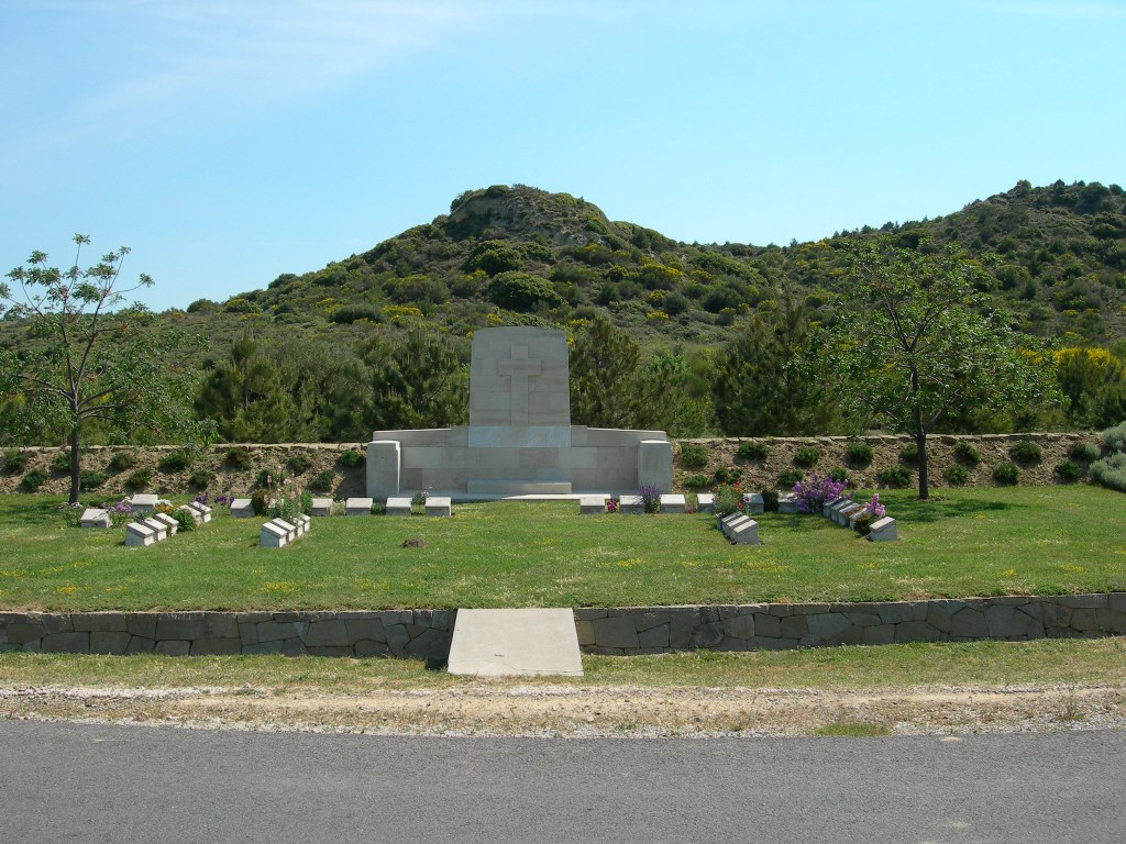 NEW ZEALAND NO.2 OUTPOST CEMETERY - CWGC