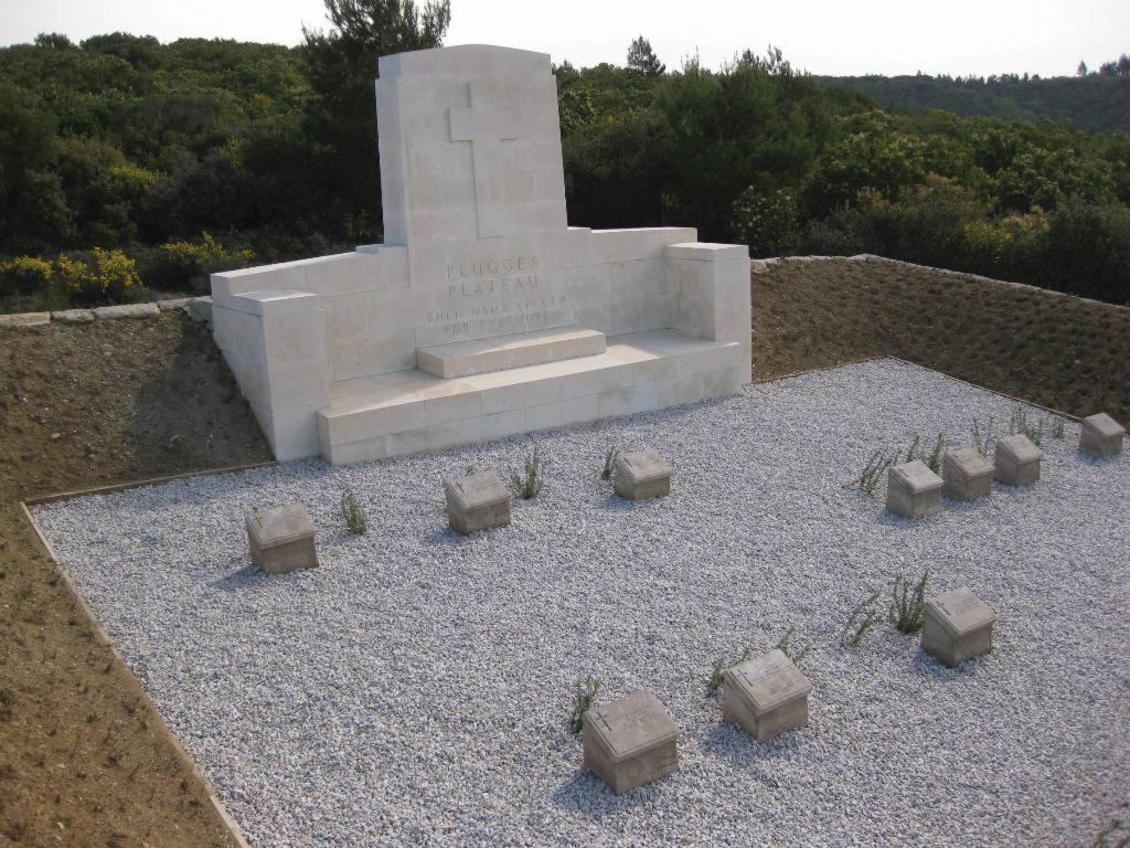 PLUGGE'S PLATEAU CEMETERY, ANZAC - CWGC