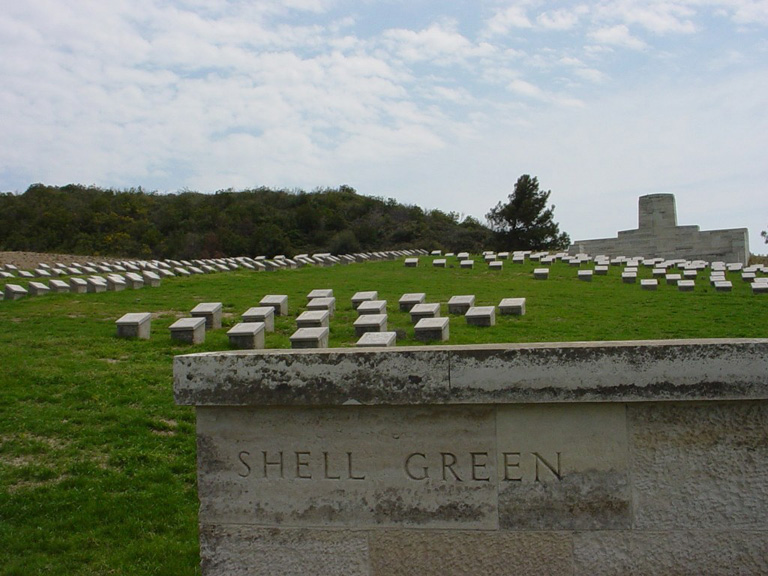 SHELL GREEN CEMETERY - CWGC