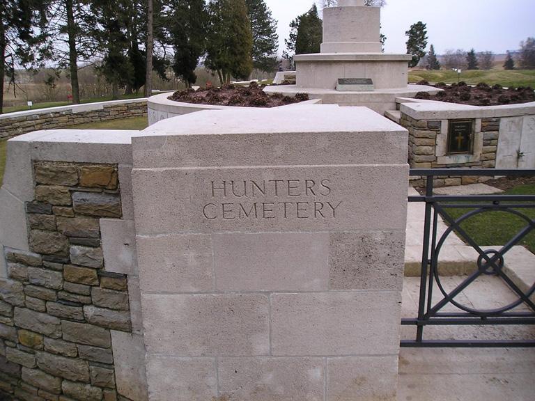 HUNTER'S CEMETERY, BEAUMONT-HAMEL - CWGC