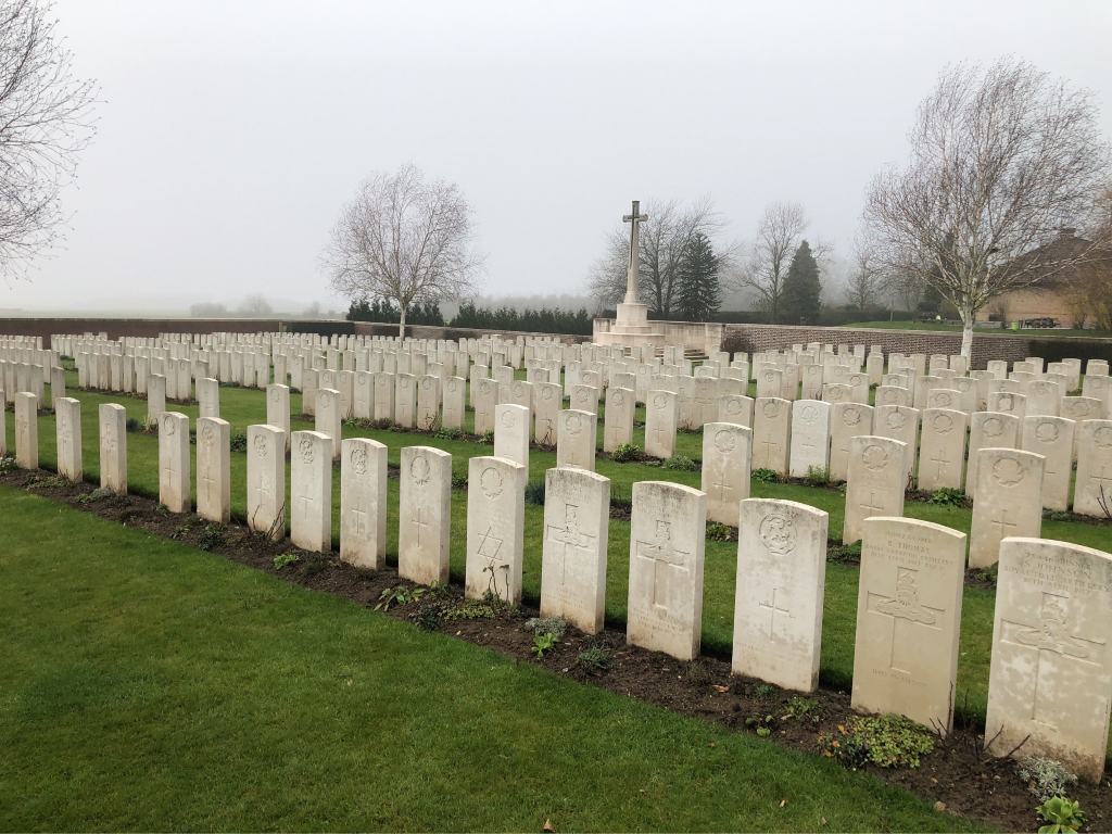 BOIS-CARRE BRITISH CEMETERY, THELUS - CWGC