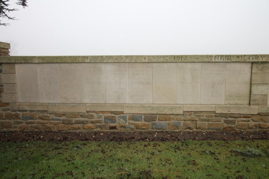 NOYELLES-SUR-MER CHINESE MEMORIAL - CWGC