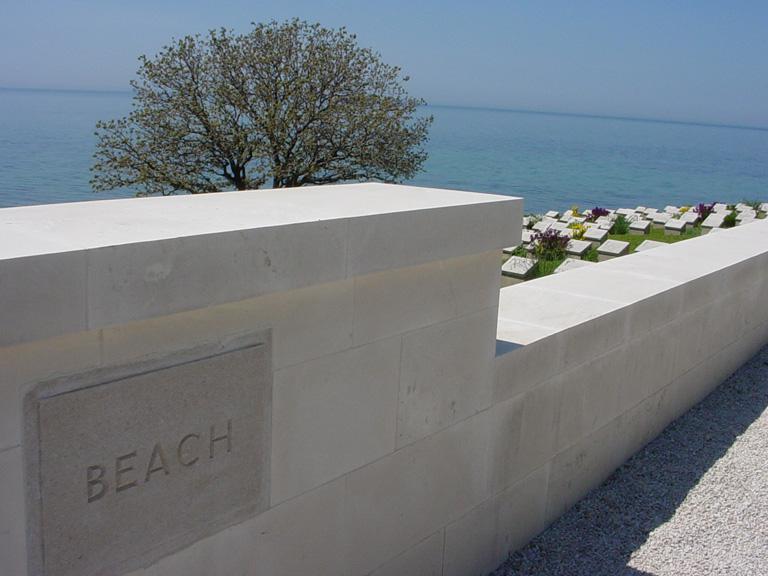 BEACH CEMETERY, ANZAC - CWGC