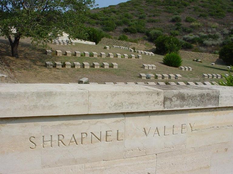 SHRAPNEL VALLEY CEMETERY - CWGC