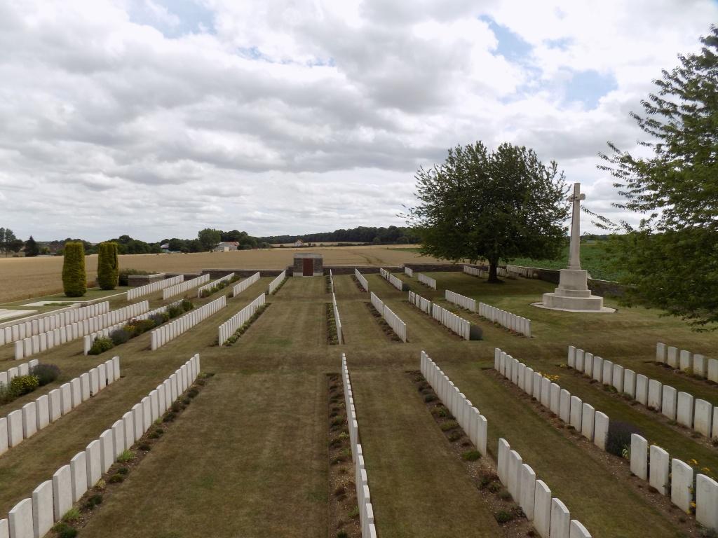 CROUY BRITISH CEMETERY, CROUY-SUR-SOMME - CWGC