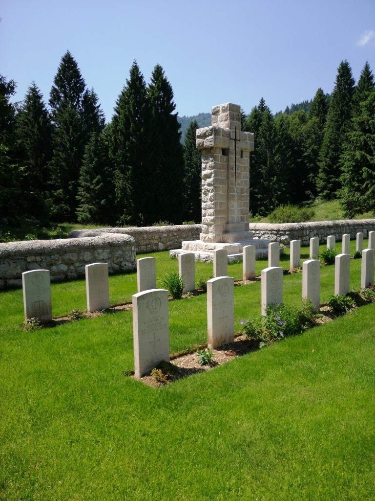 CAVALLETTO BRITISH CEMETERY - CWGC