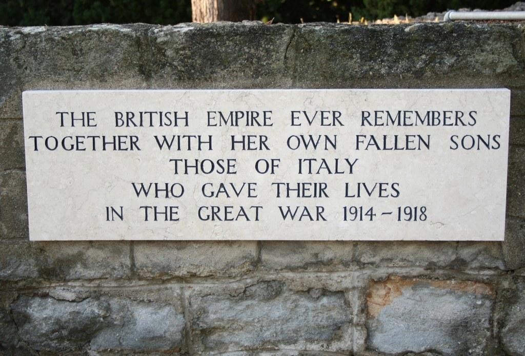 BORDIGHERA BRITISH CEMETERY - CWGC