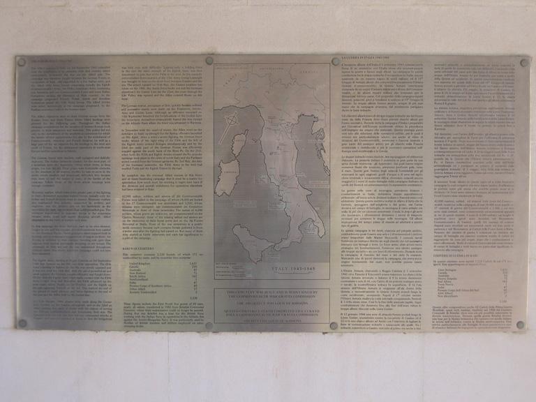 BARI WAR CEMETERY - CWGC