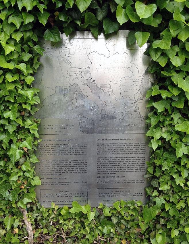 FAENZA COMMUNAL CEMETERY - CWGC