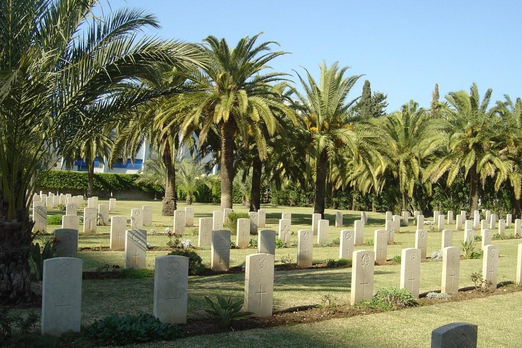 HAIFA WAR CEMETERY - CWGC