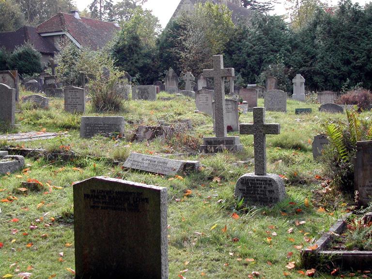 COLEMAN'S HATCH (HOLY TRINITY) CHURCHYARD - CWGC