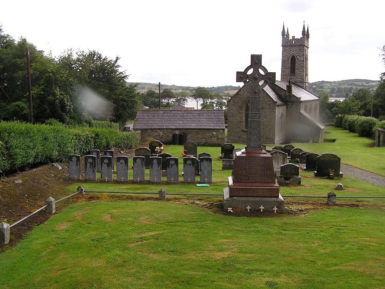 UPPER FAHAN (ST. MURA'S) CHURCH OF IRELAND CHURCHYARD - CWGC