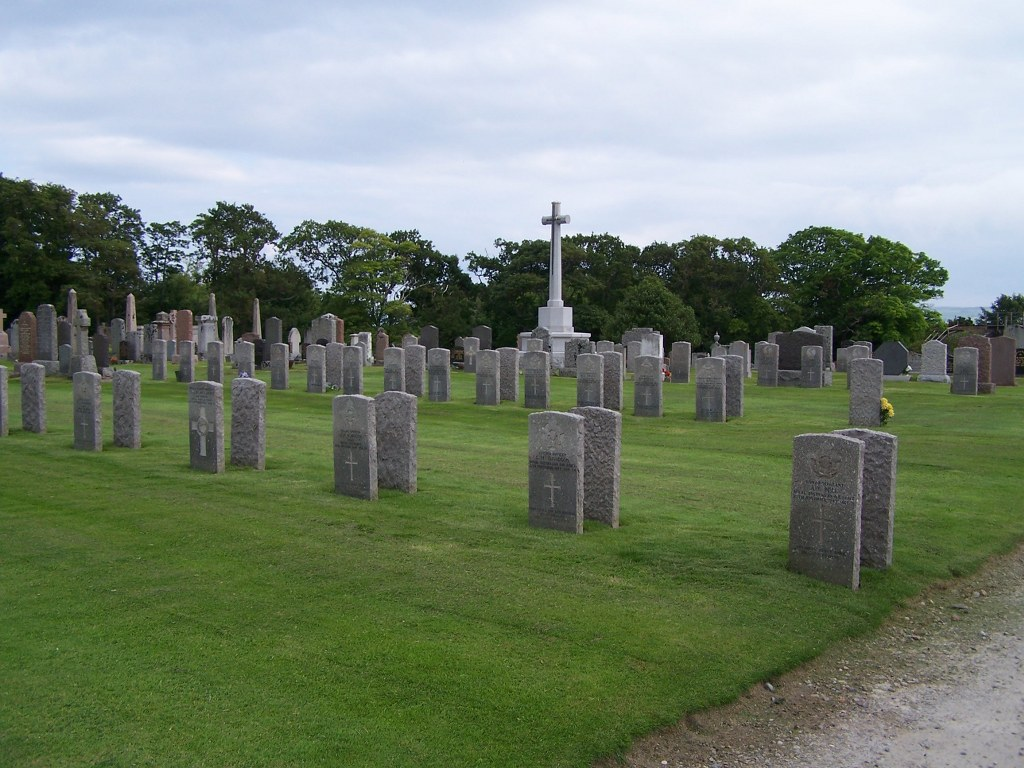 ROSSKEEN PARISH CHURCHYARD EXTENSIONS (OR BURIAL GROUND) - CWGC