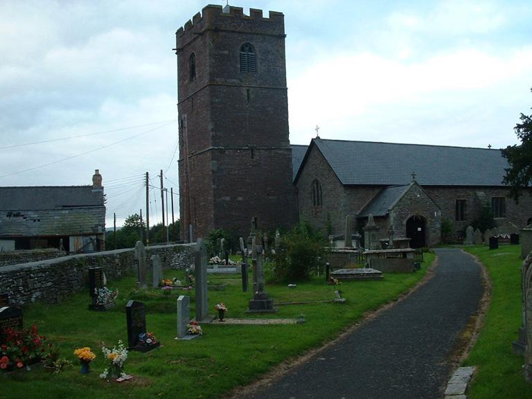 TALGARTH (ST. GWENDOLEN) CHURCHYARD - CWGC