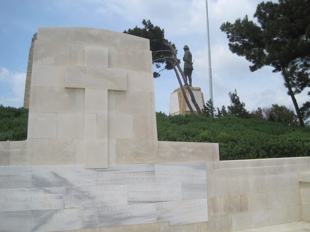 CHUNUK BAIR (NEW ZEALAND) MEMORIAL - CWGC