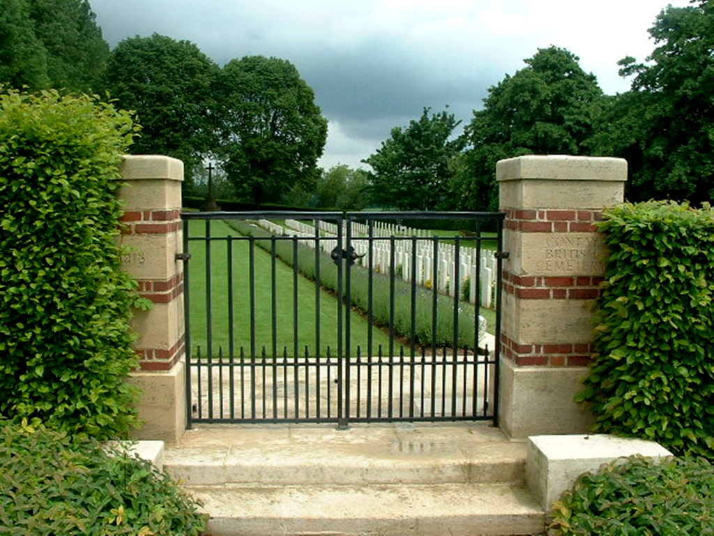 CONTAY BRITISH CEMETERY, CONTAY - CWGC