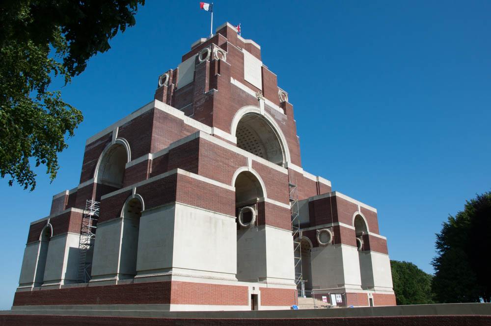 THIEPVAL MEMORIAL - CWGC