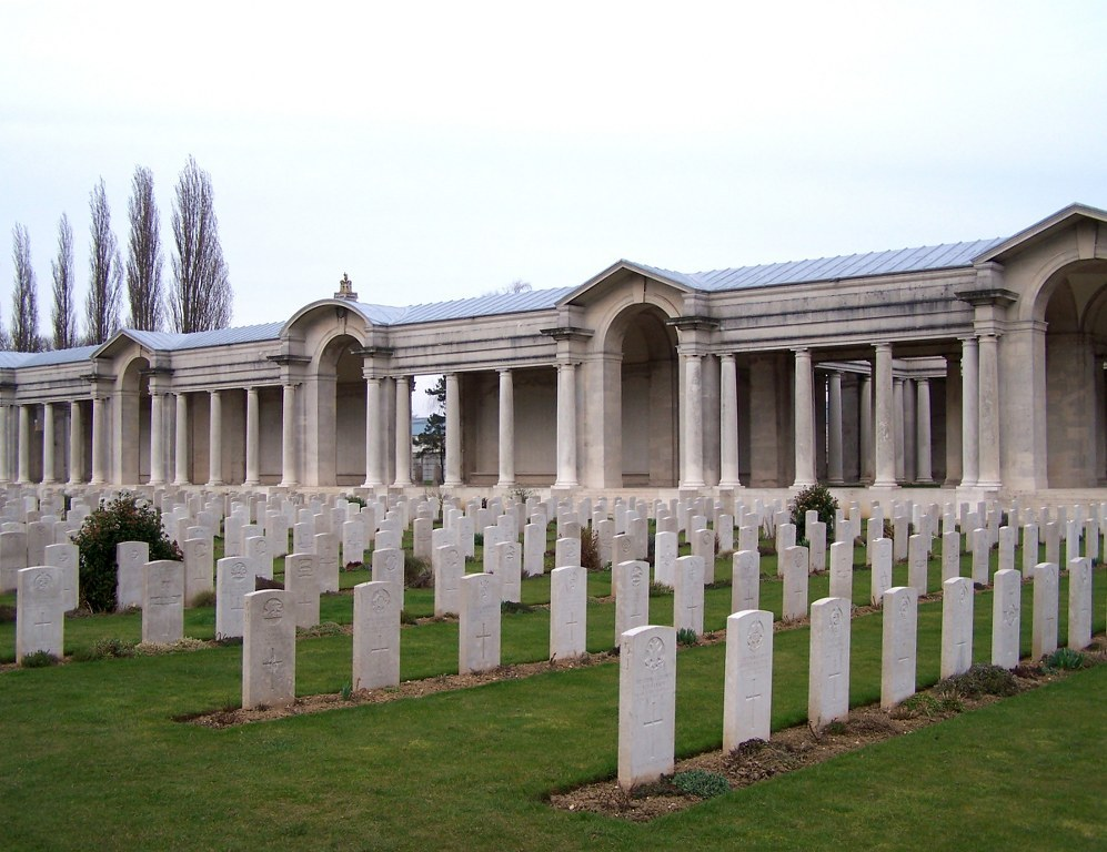 ARRAS MEMORIAL - CWGC