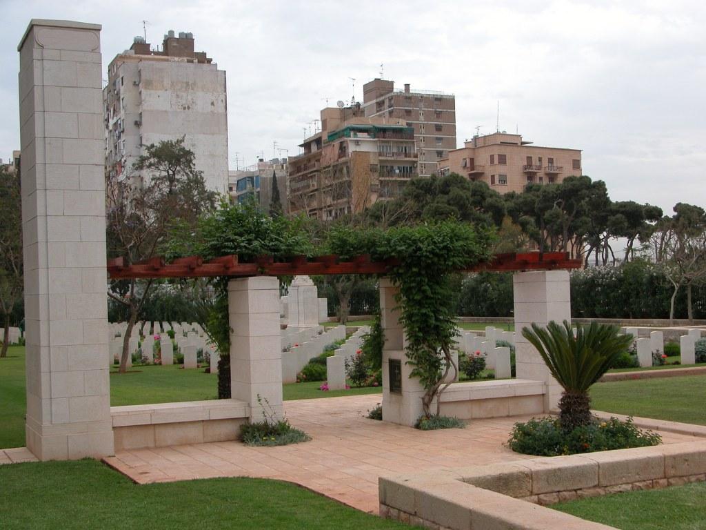 BEIRUT WAR CEMETERY - CWGC