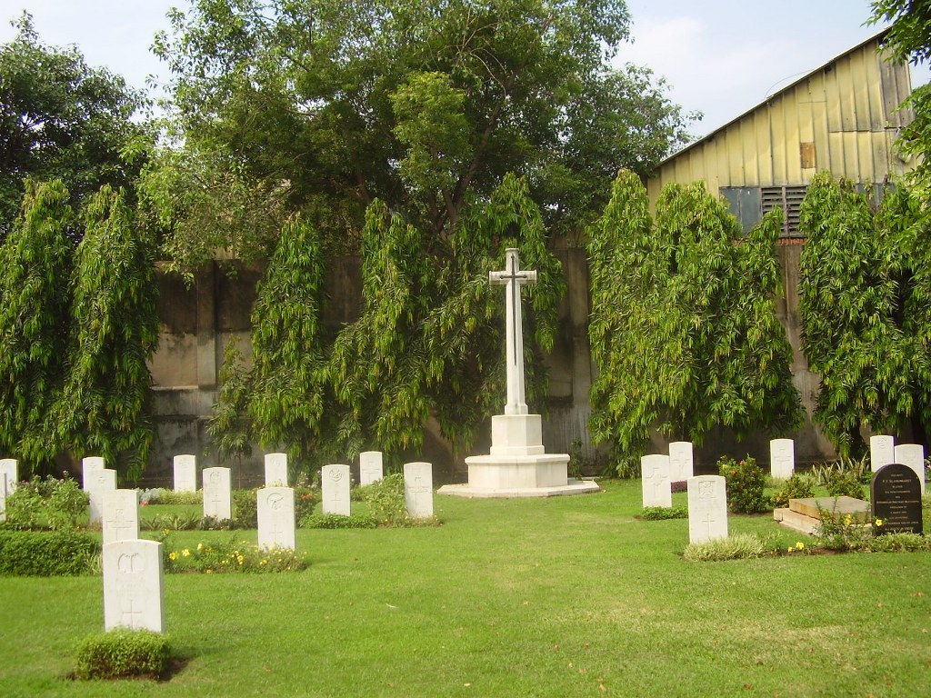 MADRAS (ST. MARY'S) CEMETERY, CHENNAI - CWGC