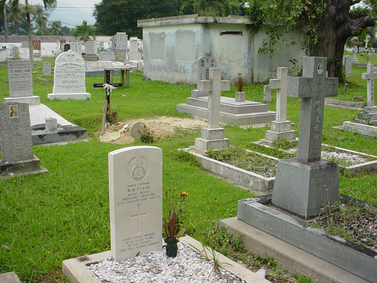 IPOH (CONNOLLY ROAD) CHRISTIAN CEMETERY - CWGC